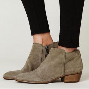 SAM EDELMAN Women's Suede Ankle Boots (Size 7)